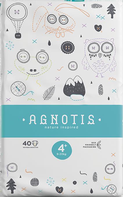 Economy Diapers Agnotis No 4+