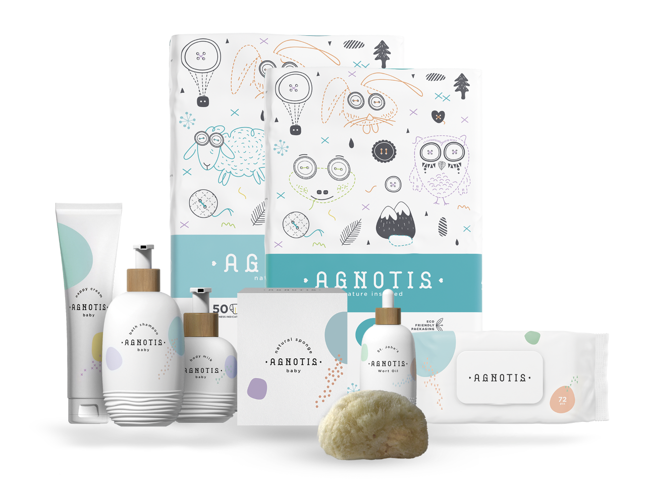 Monthly Baby Care Bundle